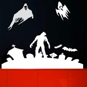 V4016-Hockey-sport-sticker-wall-halloween-Mur-Design-Decoration