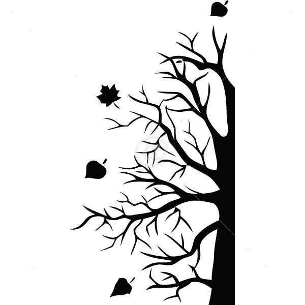 V4017-Tree-sport-sticker-wall-halloween