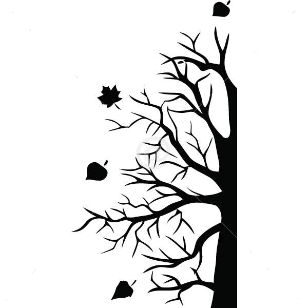 V4017-Tree-sport-sticker-wall-halloween