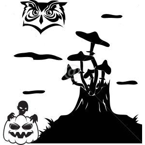 V4020-Holidays-sport-sticker-wall-halloween