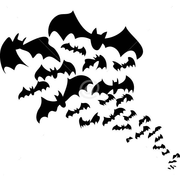 V4021-Bat-sport-sticker-wall-halloween