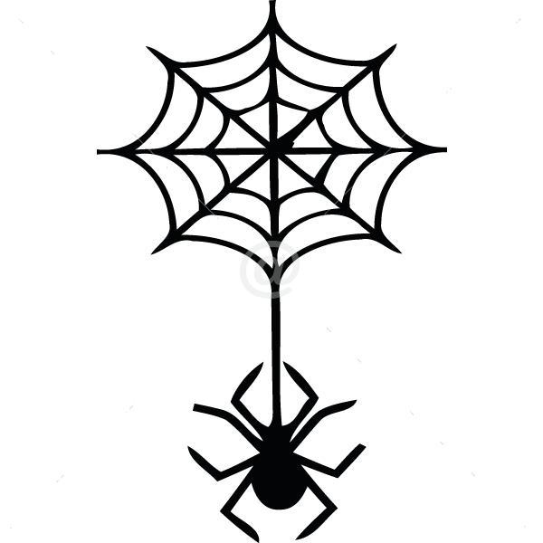 V4022-Spider-sport-sticker-wall-halloween