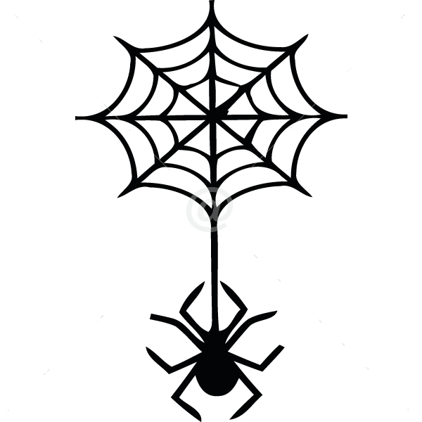V4022-Spider-sport-sticker-wall-halloween