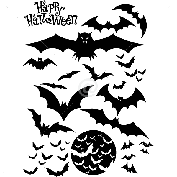 V4024-Bat-sport-sticker-wall-halloween