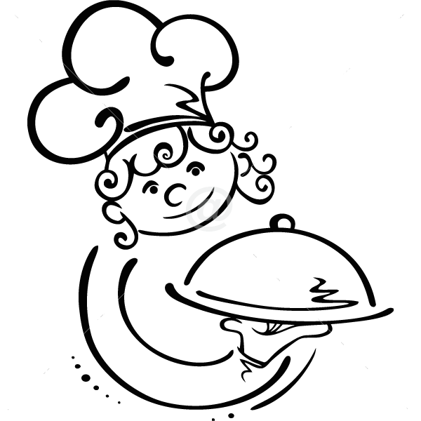 V4032-Cuisine-Chef-kitchen-cuisine-stickers-food-lavage-shopping