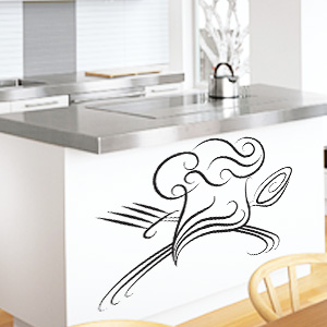 V4033-Cuisine-Chef-kitchen-cuisine-stickers-food-lavage-shopping