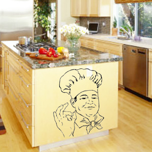 V4034-Cuisine-Chef-kitchen-cuisine-stickers-food-lavage-shopping