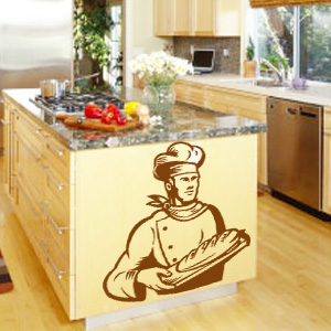 V4035-Cuisine-Chef-kitchen-cuisine-stickers-food-lavage-shopping