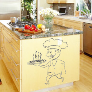 V4037-Cuisine-Chef-kitchen-cuisine-stickers-food-lavage-shopping