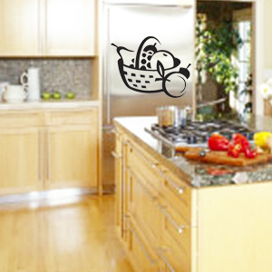 V4041-Cuisine-Chef-kitchen-cuisine-stickers-food-lavage-shopping