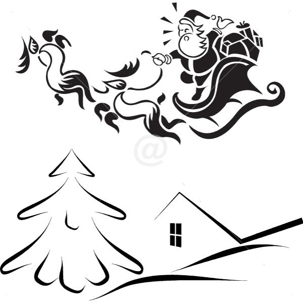 V4064-Christmas-tree-stickers--shopping