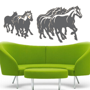 V4080-Cool--Design-Stickers-Shopping-Animal-Horses