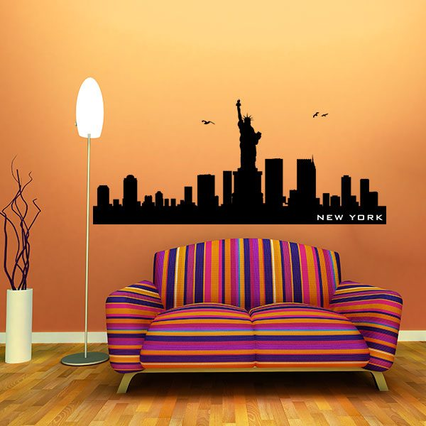 V4157-New-York-City-Building-Stickers-Wall