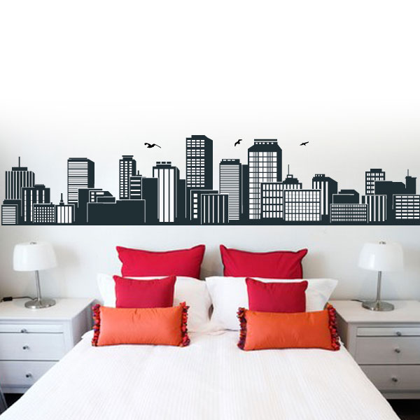 V4160-City-Building-Wall-Stickers-Decal