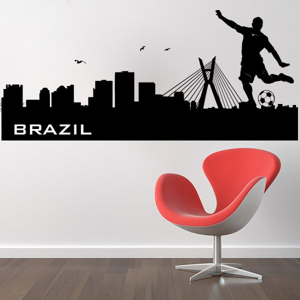 V4161-Brazil-City-Building-Wall-Stickers-Decal