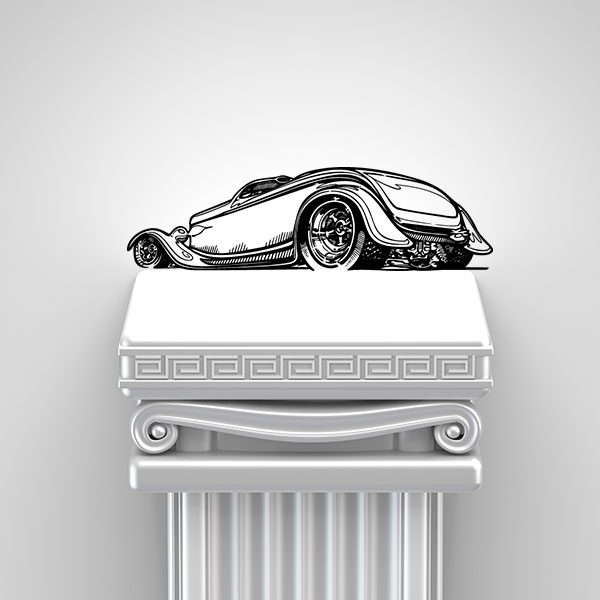 V4167-Car-Auto-Old-Wall-Stickers-Decals