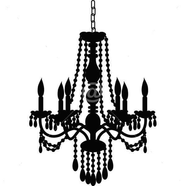V4168-Ornate-Chandelier-Wall-Stickers-Decals