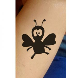 T-1026-Stencil Tattoo Self adhesive Stencils Face Painting Design Decoration Little Bee