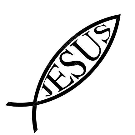 T-17004-B Stencil Tattoo Self adhesive Stencils Face Painting Design Decoration Jesus