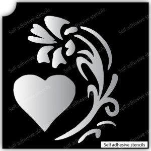 TR-10003 Stencil Tattoo Self adhesive Stencils Face Painting Design Decoration Cherry Food eimpression.ca