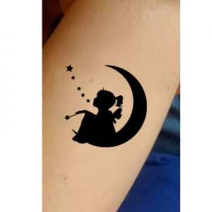 TR-1001 Stencil Tattoo Self adhesive Stencils Face Painting Design Decoration Magic Fairy