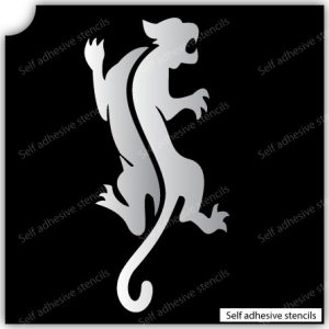 TR-2007 Tiger Stencil Tattoo Self adhesive Stencils Face Painting Design Decoration