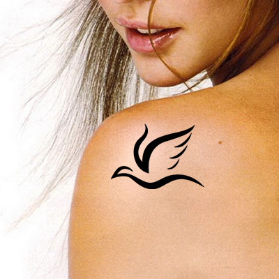 TR-3005 Stencil Tattoo Self adhesive Stencils Face Painting Design Decoration
