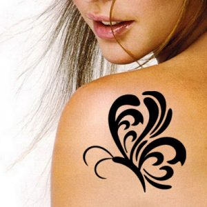 TR-4005 Stencil Tattoo Self adhesive Stencils Face Painting Design Decoration