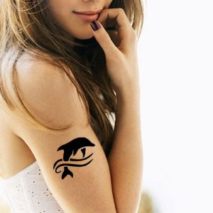 TR-6000 Stencil Tattoo Self adhesive Stencils Face Painting Design Decoration