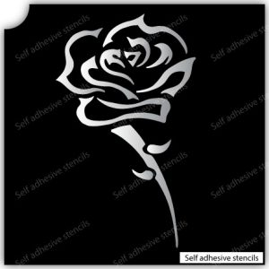 TR-8006 Stencil Tattoo Self adhesive Stencils Face Painting Design Decoration Flower eimpression.ca